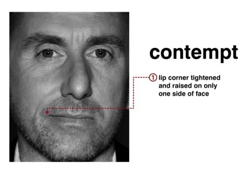 contempt 500x354 Microexpressions   A Key to Studying Human Behavior