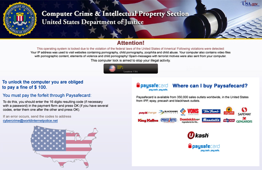 police trojan screenshot Citadel Trojan uses insidious forms of Social Engineering