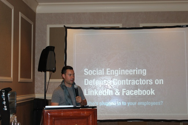 26 JordanSpeech1 Social Engineer and DEF CON 21