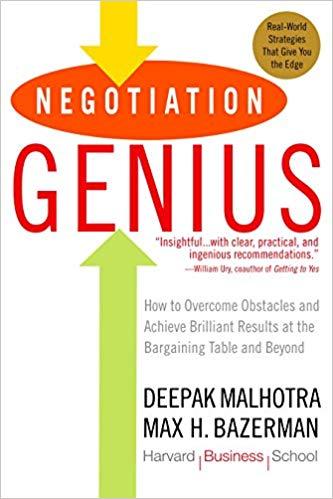 Negotiation Genius - Maholtra and Bazerman