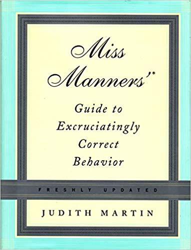 Miss Manners - Judith Martin