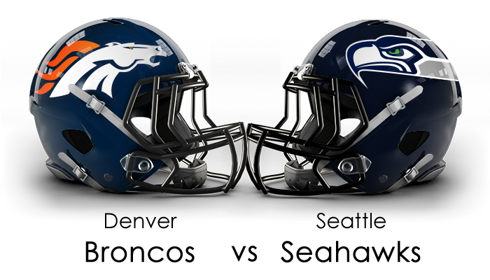 Denver Broncos vs Seattle Seahawks SuperBowl1 Victory Nonverbal