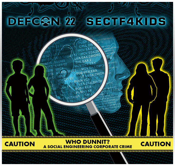 DEF CON 22 SECTF4Kids Rules and Regulations