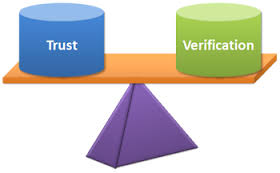 trust and verification balanced trust but verify
