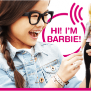 Hello Barbie. The doll that REALLY listens