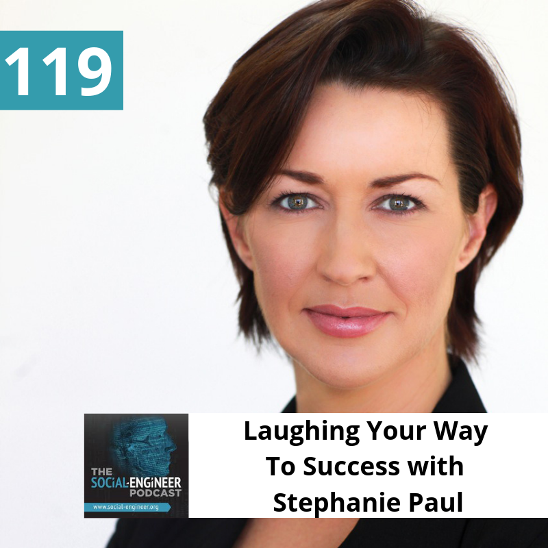 Ep  119 – Laughing Your Way To Success with Stephanie Paul